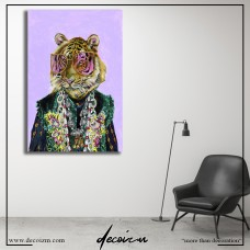 Gucci Bengal Tiger Kanvas Tablo