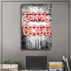 Girl Boss Kanvas Tablo